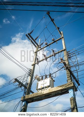 Electricity Post And The Transformer