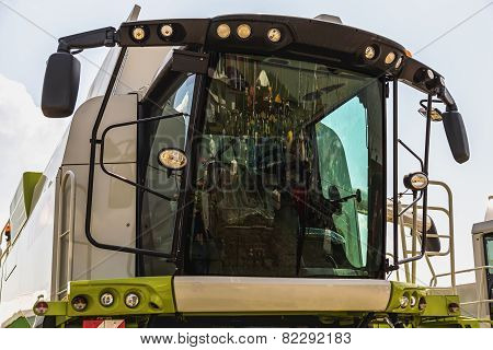 Cab Of Combine Harvester