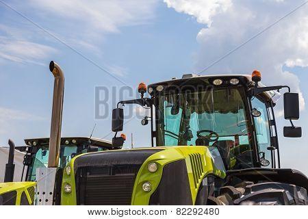 Cab Of Tractor