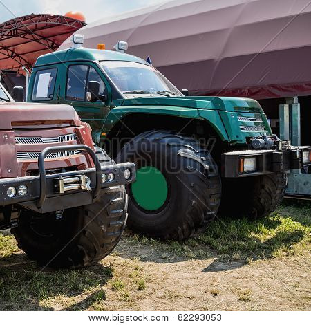 Suv Or Sport Utility Vehicles In Agriculture Industry