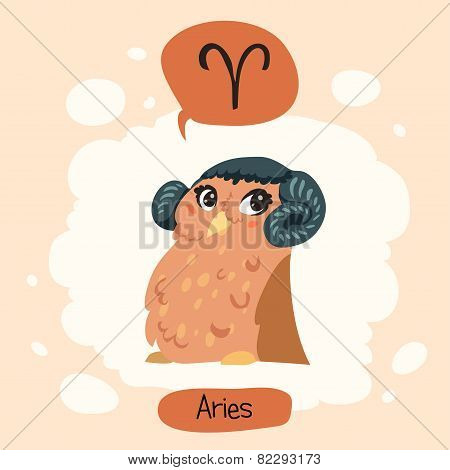 Horoscope Cute Owl
