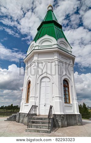 Small Church in Krasnoyarsk