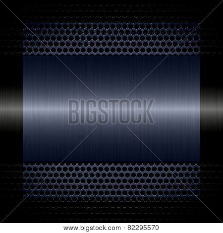 gray steel metal texture with holes metal background