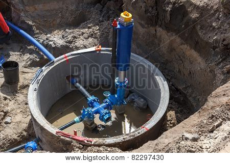 Building municipal water supply