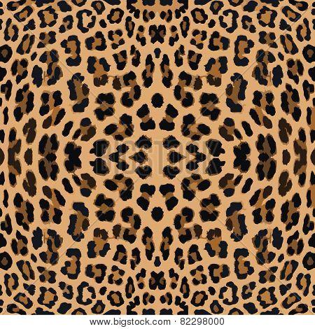 Leopard texture pattern.