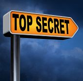 pic of top-secret  - top secret file confidential and classified secrecy restricted information - JPG