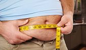 picture of obese man  - Fat belly - JPG