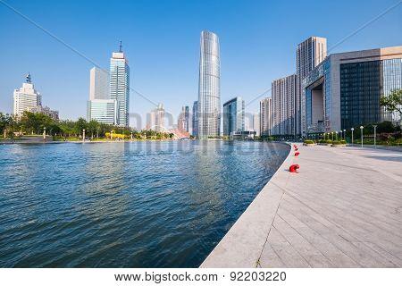Modern Buildings In Tianjin