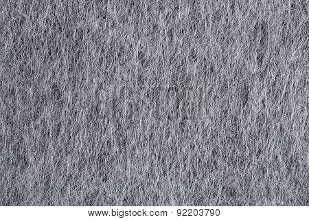 Gray Nonwoven Fabric Background