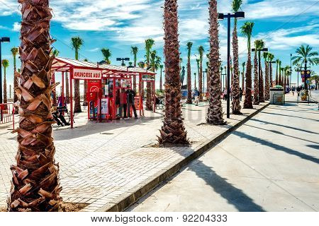 Fuengirola Seafront Promenade