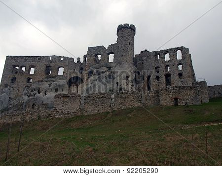 Ogrodzieniec castle ruins.