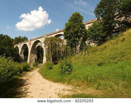 Stanczyki railway aqueducts.