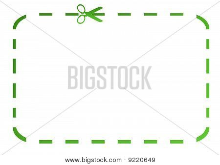 Blank Green Eco Coupon