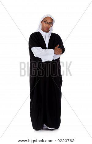 Atraente americano Africano jovem, Sheikh