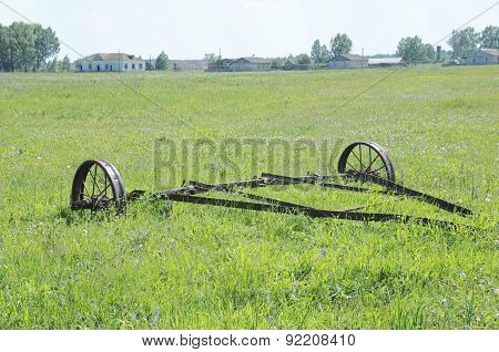 Rusty plough