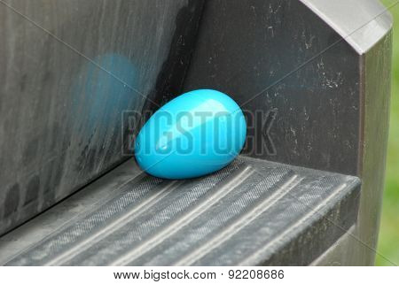 Blue Easter Egg Toy