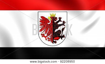 Flag Of Kuyavian-pomeranian Voivodeship, Poland.