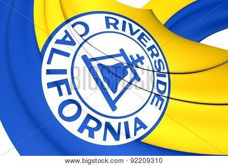 Flag Of Riverside, Usa.