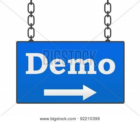Demo Signboard