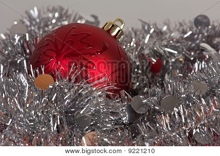 Tinsel And Ball