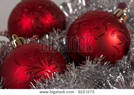 Three Balls And Tinsel