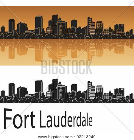 Fort Lauderlade Skyline