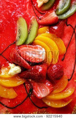Pie With Fruit