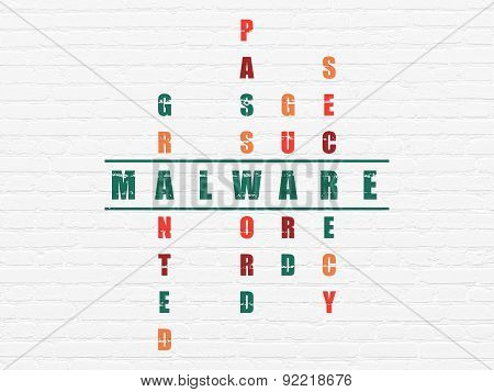 Safety concept: word Malware in solving Crossword Puzzle