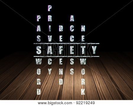 Safety concept: word Safety in solving Crossword Puzzle