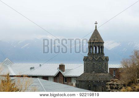 Surb Hakob Chapel Dome, Sevan, Armenia, Caucasus,central Asia