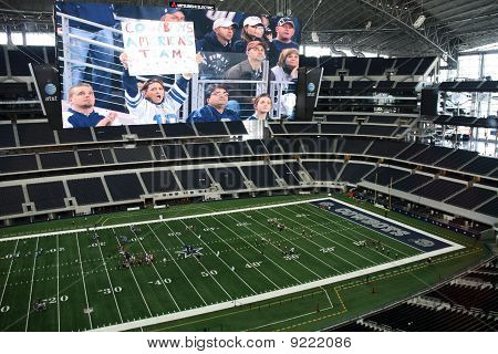 Inside Cowboys Stadium