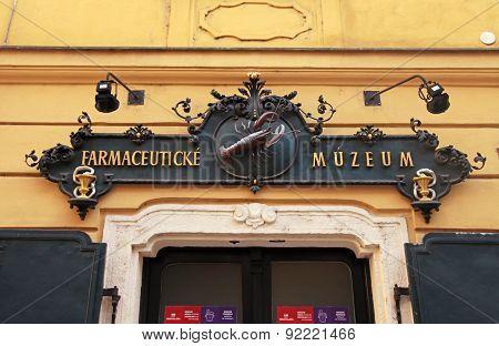 The Pharmacy Museum In Bratislava, Slovakia