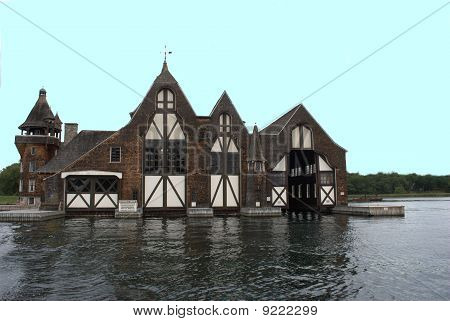 antique boat house