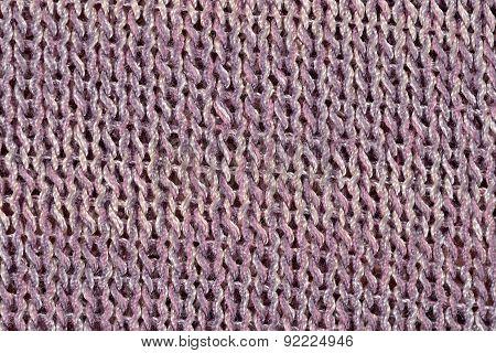 Pink-gray Melange Stockinet As Background