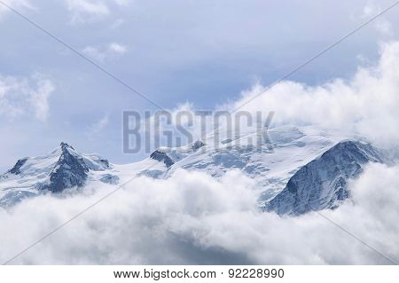 Mont Blanc, Chamonix, French Alps, France.