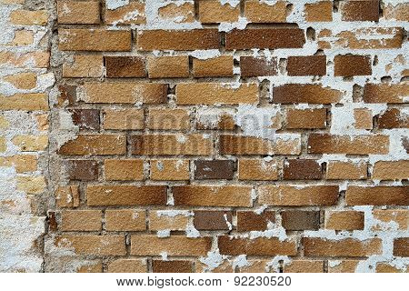 Background Image Of Old Vintage Brick Wall