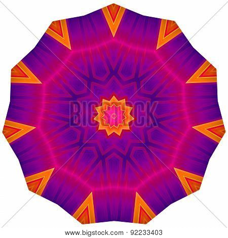 Geometric Decorative Rosette