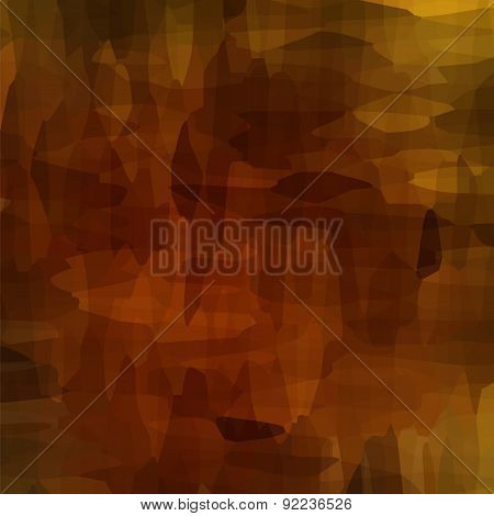 Brown Watercolor Pattern