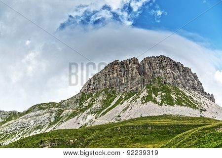 Mount Castellazzo Near Rolle Pass