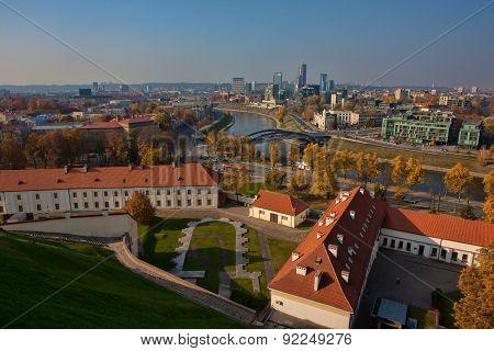 Vilnius Cityscape From Gediminas Castle