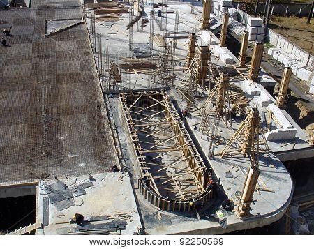 Foundation Construction Site