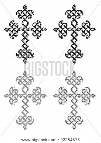 Traditional Armenian Apostolic Church Plaited Crosses