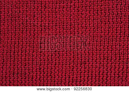 Red Stockinet Texture