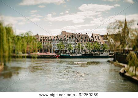Quai Des Pecheurs, Fishermen Quay In Strasbourg, France
