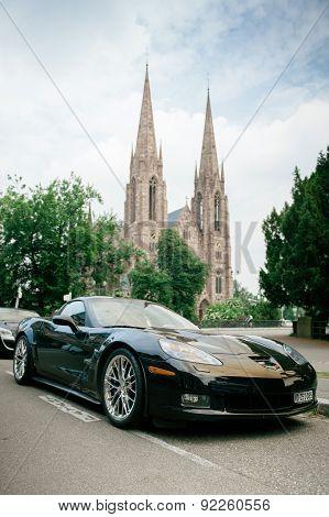 Chevrolet Corvette Zr 1 Luxury Sport Car