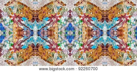 Colorful old Mosaic Design
