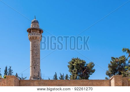 Minaret With A Survey Platform
