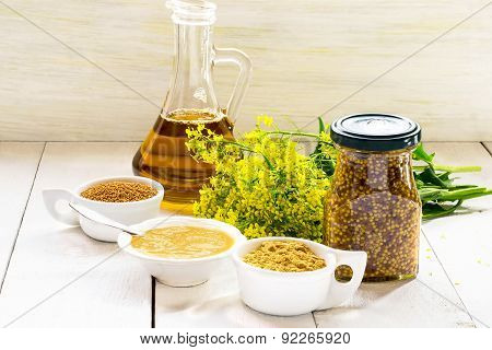Different Types Of Mustard