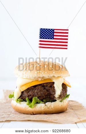 Single Beef Burger