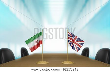 Iran and United Kingdom relations and trade deal talks